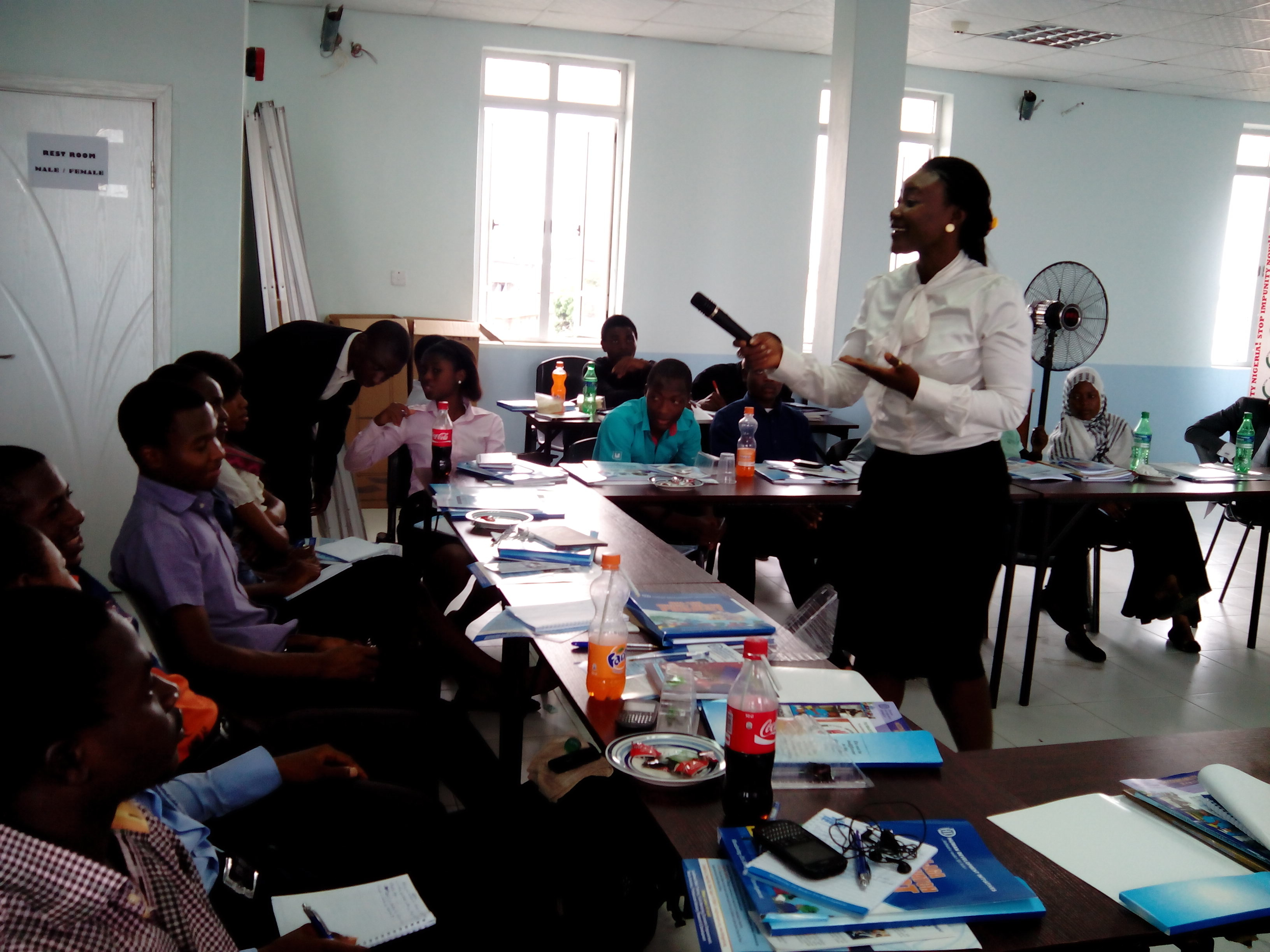 HDI Trains Mass Communication Students from 11 Tertiary Institutions