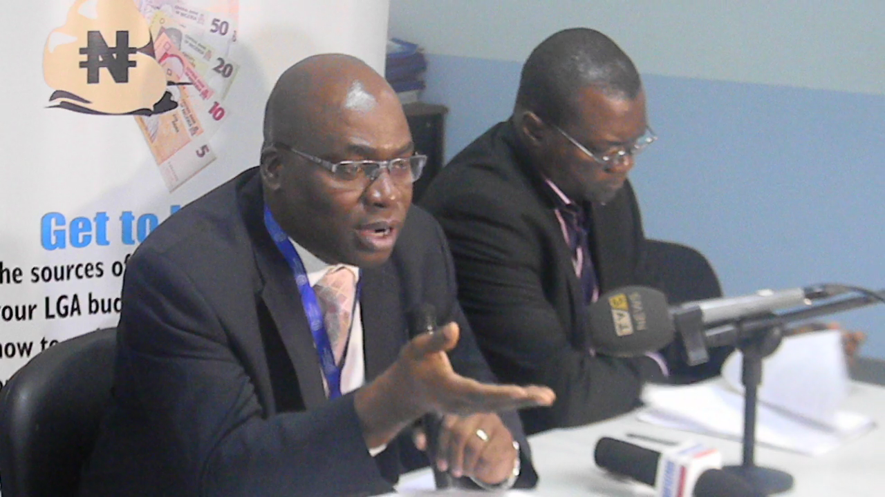 HDI Holds a Press Briefing on the Fraud in Lagos LGAs/LCDAs