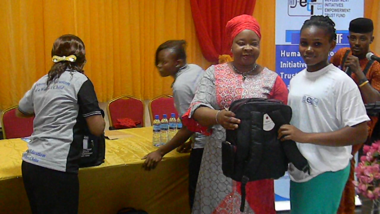 HDI-ETF: Empowering Widows Children, increasing literacy level in Nigeria