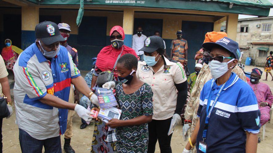 COVID-19: HDI Nigeria Distributes Hand-Held Radio, Facemasks to 500 Lagos Pupils