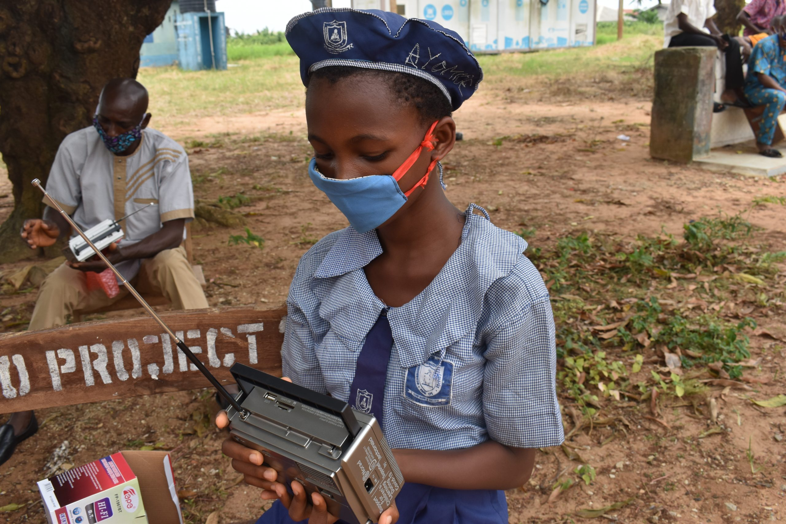 HDI NIGERIA AND ACTIONAID NIGERIA SUPPORTED 673 INDIGENT GIRLS WITH RADIO SET FOR THEM TO CONTINUE LEARNING FROM HOME
