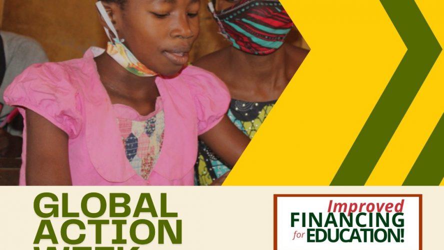 GLOBAL ACTION WEEK FOR EDUCATION 2021