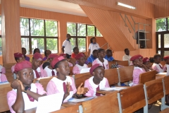 Student participants at lecture